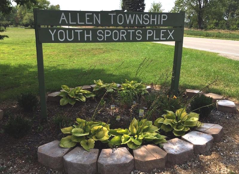 Sportsplex Sign